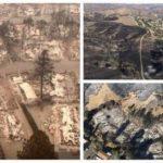 Разрушенная пожарами Калифорния (фото)