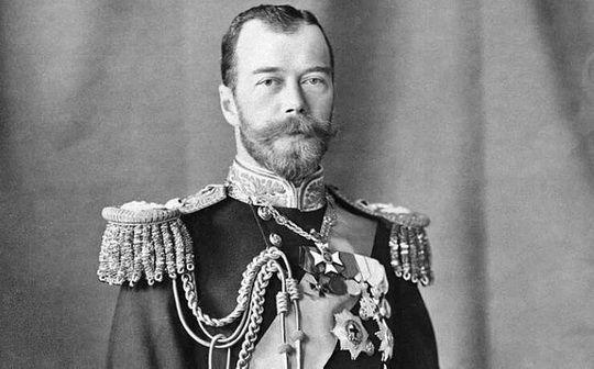 В титуле Николая II сначала шёл император с перечнем земель