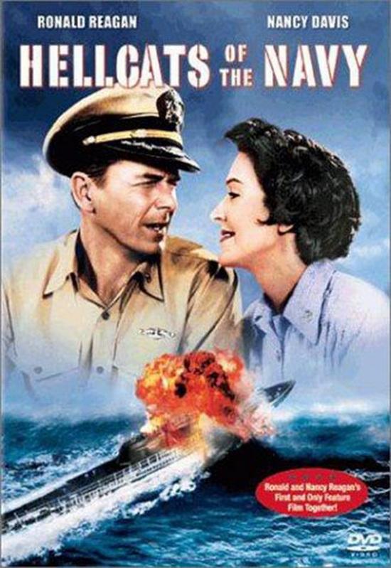 Рональд и Нэнси Рейган в кф Морские ведьмы (1957 год)