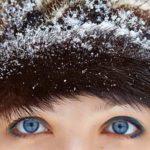 Почему в мороз не мерзнут глаза?