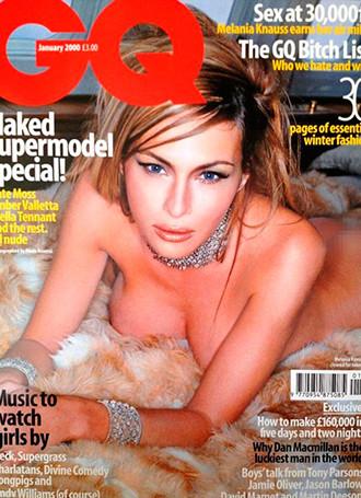 Мелания на обложке журнала GQ