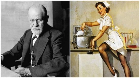 Фрейд предупреждал: чулки – идеальный фетиш для мужчин.