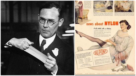 Cоздатель нейлона Уоллес Каротерс так и не узнал о великом будущем своего изобретения.