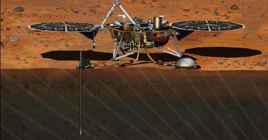 Открытие сделано не просто случайно, а будто вопреки программе – сенсоры уловили не звуки, а вибрации от двух солнечных панелей в форме кругов диаметром 2,2 м.