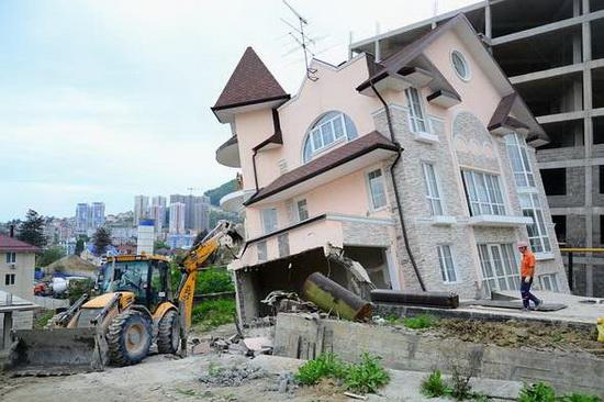 """Изъятие собственности """"под государственные нужды"""" в массовом порядке впервые началось перед Олимпиадой в Сочи."""
