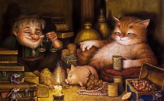 Это потрясающе милая и смешная серия историй о приключениях домового и его верного спутника — кота. Часть 34