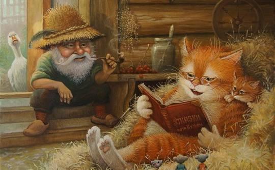 Это потрясающе милая и смешная серия историй, о приключениях домового и его верного спутника — кота. ...продолжение. Часть 35 — здесь