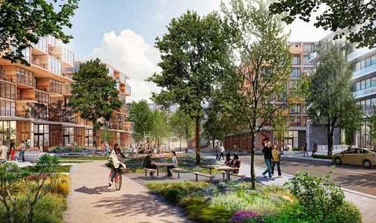 В 2015-ом компания Google анонсировала планы по созданию новой штаб-квартиры, грандиозного объекта под названием «Mountain View Charleston East».