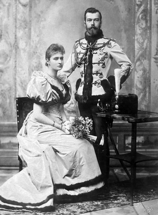 Николай и Алиса Гессенская после помолвки
