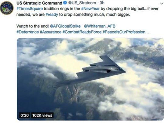 Стратегическое командование США, которое курирует ядерный арсенал страны, извинилось за шутку в соцсетях