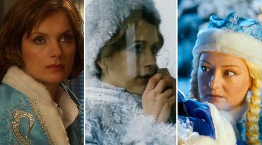 В кино роль Снегурочки доставалась самым красивым актрисам.