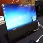 Lapscreen: USB-C монитор размером с лист бумаги, поможет обойтись без ноутбука