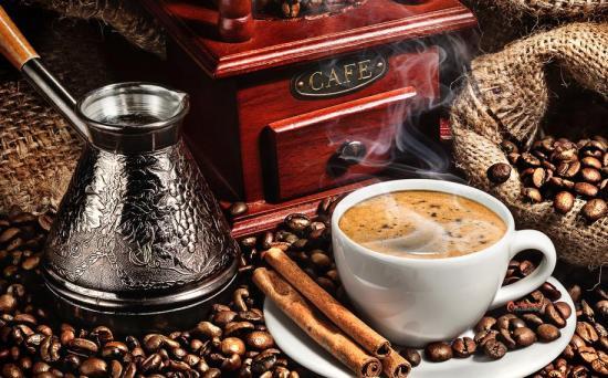 Вареный кофе с карамельным вкусом