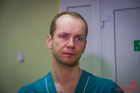 Заведующий хирургическим отделением Дмитрий Плескач