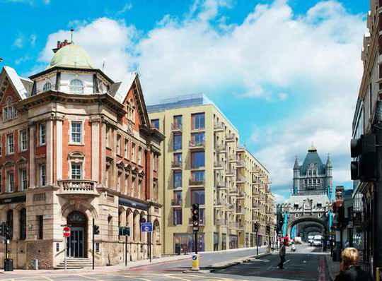 Жилье в самых престижных районах Лондона подешевело за год почти на 5%.