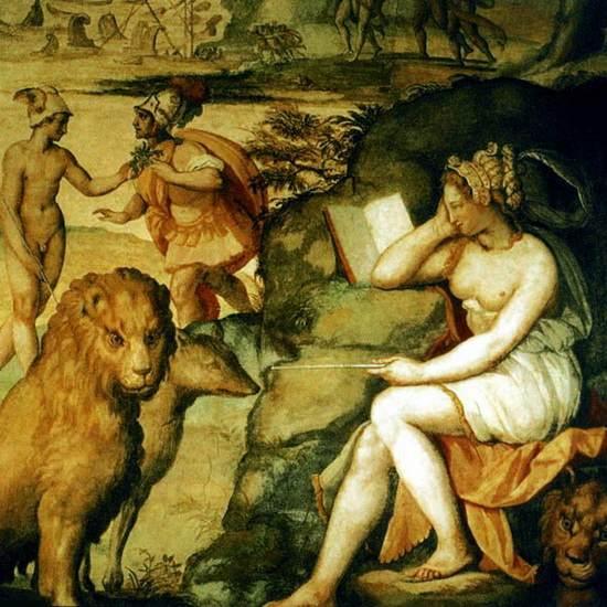 Цирцея и соратники Одиссея