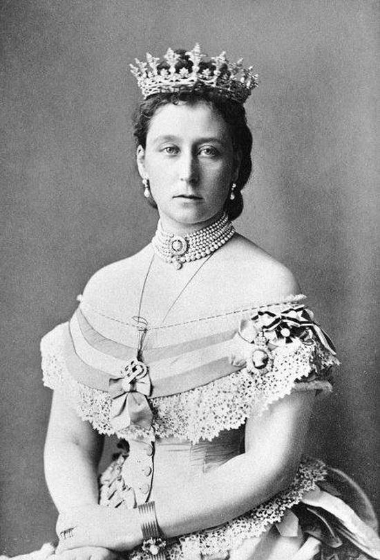 Принцесса Алиса в 1871 году