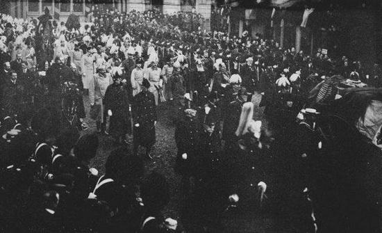 Похороны королевы Виктории