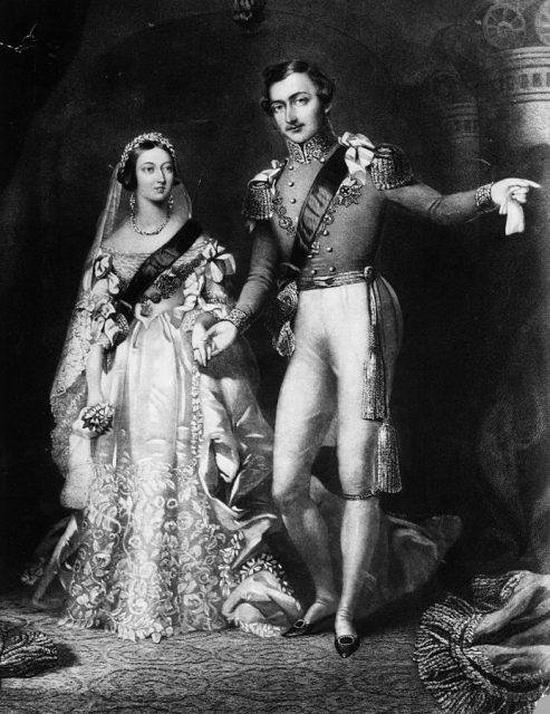 Принц Альберт и Королева Виктория