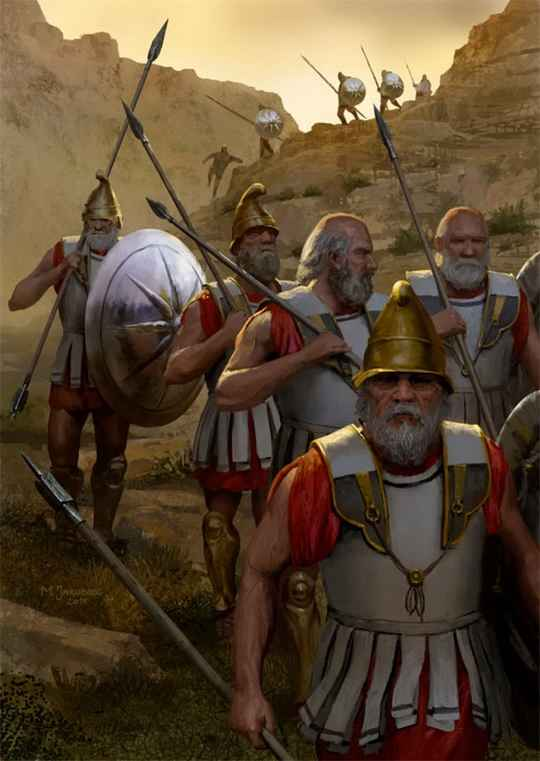 Они храбро сражались во время войн диадохов, но вошли в историю как отряд, предавший своего полководца.