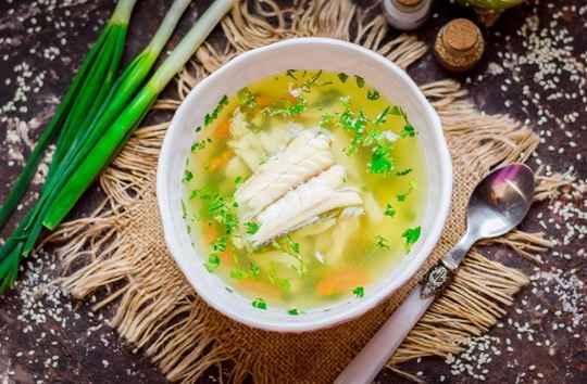 Рыбный суп из трески – легкий, ароматный и очень вкусный.