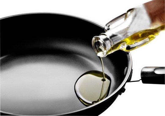 Масло не нагревается чрезмерно.