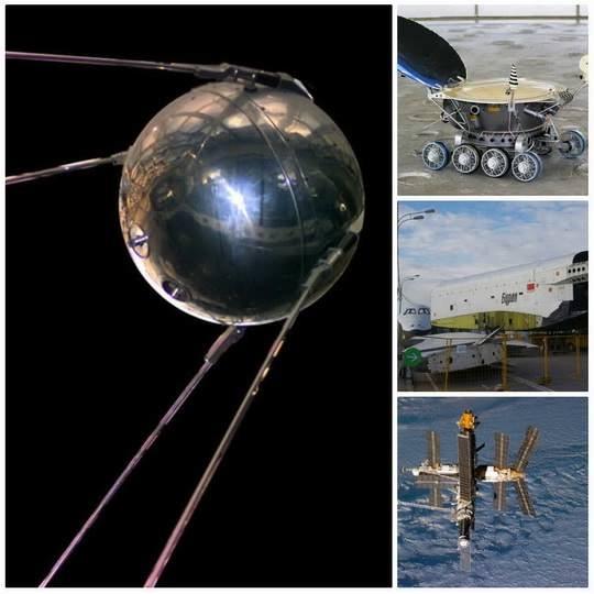 """12 апреля 1961 года советский космонавт Юрий Гагарин на космическом корабле """"Восток-1"""" стартовал с космодрома """"Байконур"""" и впервые в мире совершил орбитальный облет планеты Земля."""
