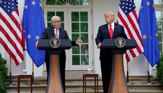 После долгих споров, страны Евросоюза готовы предоставить комиссару ЕС по вопросам торговли мандат на ведение переговоров с Вашингтоном.