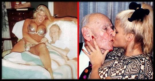 Последний раз миллиардер, магнат и промышленник. Джеймс Говард Маршалл II женился в возрасте 89 лет на 28 летней сексапильной модели Анне Николь Смит.