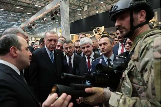 Предполагается, что TÜMOL будет устанавливаться на турецкую винтовку MPT-76.