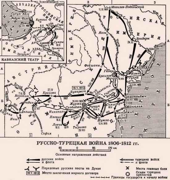 Война 1806–1814 гг.