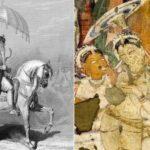 Как в древности использовали зонтик
