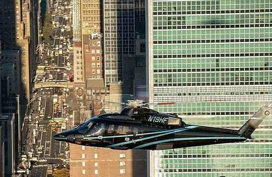 Cо следующего месяца, над Нью-Йорком начнут курсировать такси-вертолеты — Uber Copter.