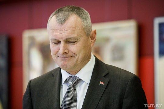 10 июня, министр внутренних дел Беларуси Игорь Шуневич, был отправлен в отставку.
