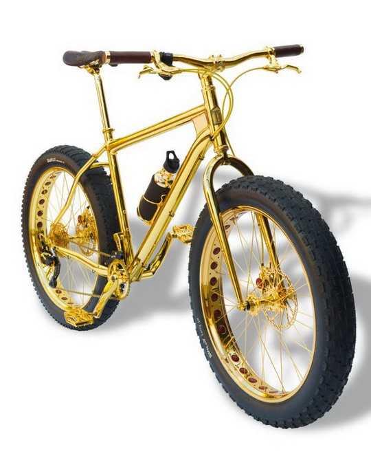 Компания «House of Solid Gold», которая выпускает такие велосипеды, специализируется только на изделиях из драгоценных металлов и камней.