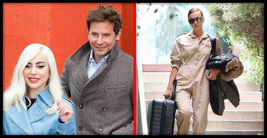 Не успела Ирина Шейк захлопнуть за собой дверь, как Леди Гага уже стояла на пороге с чемоданами