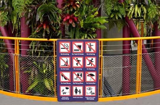 У города-государства Сингапур есть прозвище Fine City.