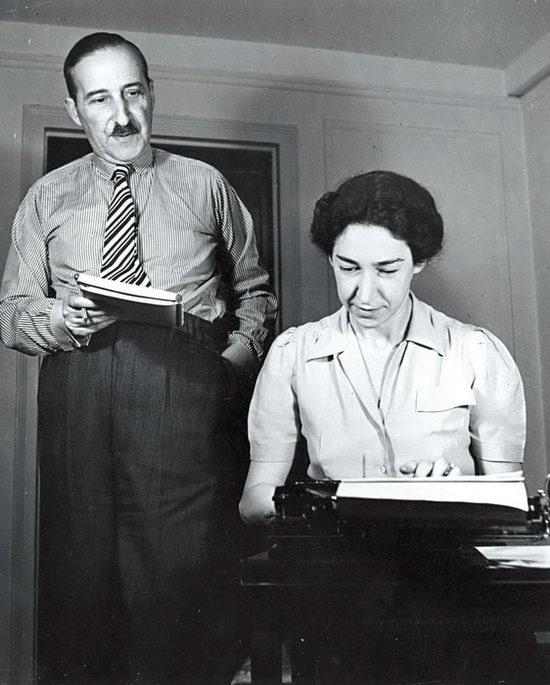 Стефан Цвейг и Шарлотта Альтманн