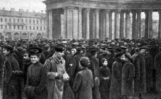 Демонстрация у Казанского собора