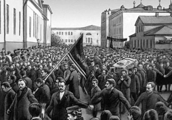 Похороны Павла Чернышева