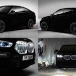 BMW выпустит новый внедорожник X6 Vantablack