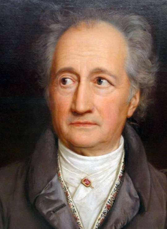 Иоганн Вольфганг фон Гёте — немецкий поэт, государственный деятель, мыслитель.