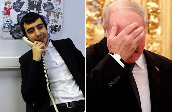 Пранк с Александром Лукашенко