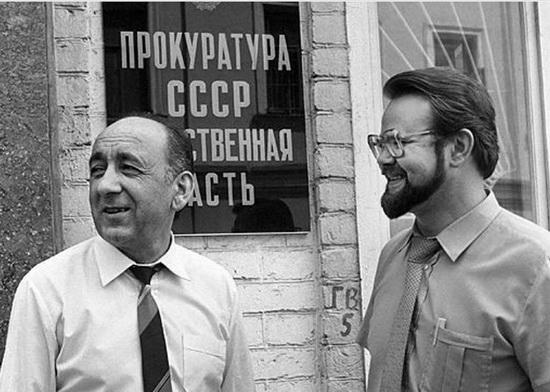 Тельман Гдлян и Николай Иванов