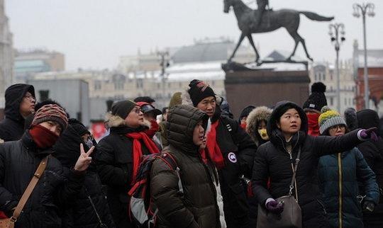 По данным погранслужбы ФСБ, Россию в прошлом году посетили 1,25 млн китайских туристов. В нынешнем году эта цифра наверняка увеличится.