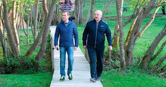 Белорусскому официальному лидеру вдруг прилетело от Дмитрия Медведева