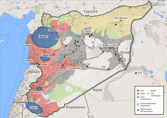 Она отметила, что нефтяные месторождения принадлежат народу Сирии.