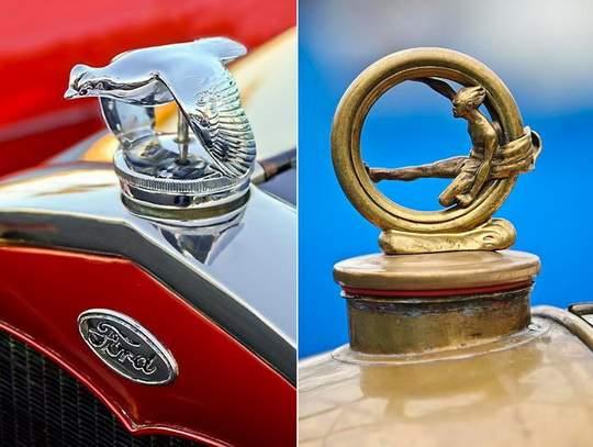 В ранних автомобилях крышка радиатора открывалась отдельно от капота, а по её нагреву можно было судить о температуре охлаждающей жидкости.