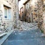 В южной части Франции произошло сильное землетрясение