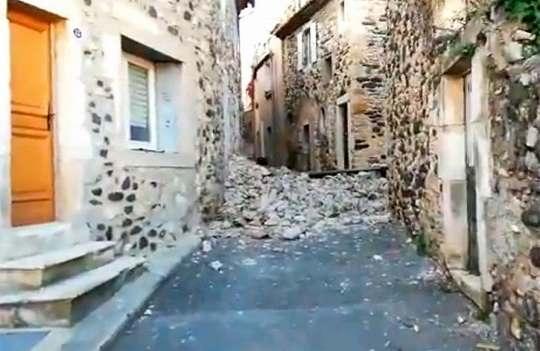 Франция, землетрясение, землетрясение +франция, события в мире